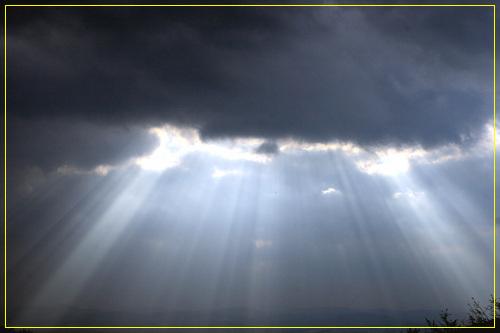하늘  상당산성에서 찍은 하늘
