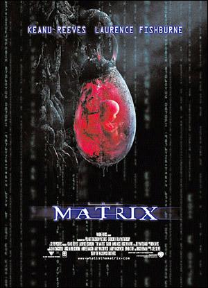 영화 <매트릭스>는 국가가 개인을 어떻게 통제, 감시, 훈육시키는지 잘 보여준다. 사진은 영화 <매트릭스>의 포스터.