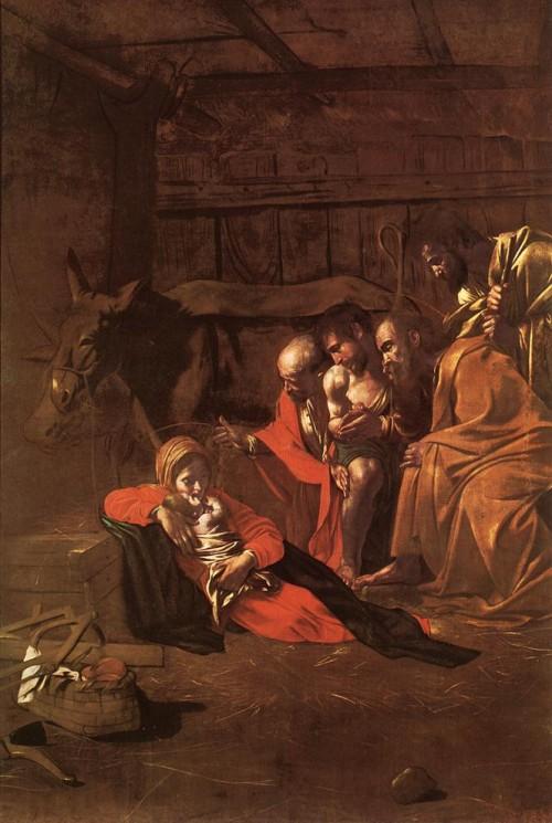 목자들의 경배(Adoration of the Shepherds) 1609, Oil on canvas, 314 x 211 cm, Museo Nazionale, Messina