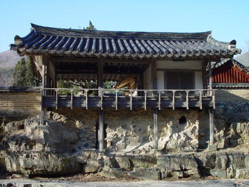 자연친화적인 건물 계정(溪亭)