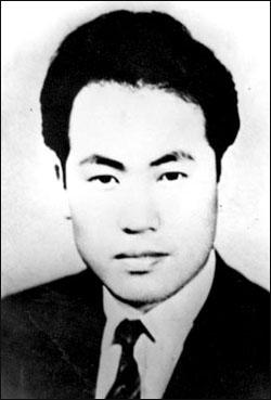 <민족일보> 조용수 사장의 생전 모습.