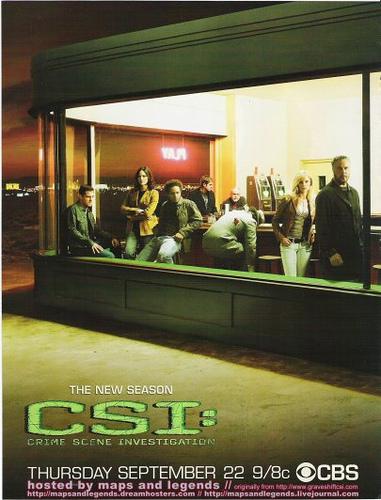 나이트혹스를 패러디한 CSI 포스터
