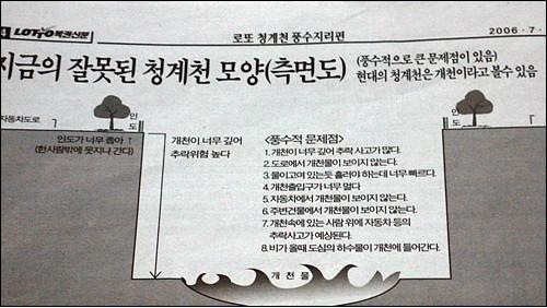 청계천 복구공사의 풍수적 지적을 했다는 허경영 총재