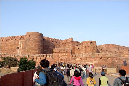 인도에 있는 아그라 성