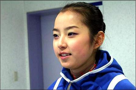 태릉빙상장에서 만난 국가대표 신나희(18.대구 경명여고)선수.