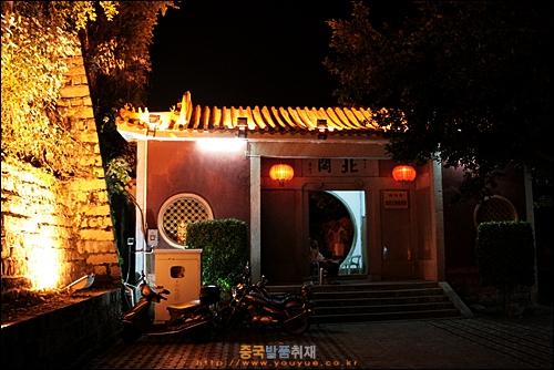 차오저우 성벽 가운데 자리잡은 베이거 입구