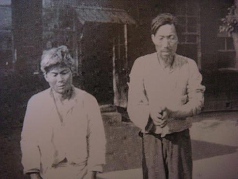 제주에서 체포된 무장대원의 모습(1948.5) 미국립문서기록관리청 소장 사진이며, 제주 4.3사건 진상조사보고서에 수록된 사진을 찍었다.