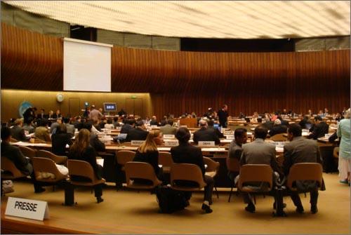 유엔인권이사회 실무그룹 회의 스위스 제네바에서 열리고 있는 유엔인권이사회에서 일본정부의 인권상황을 검토하는 회의가 진행되고 있다.