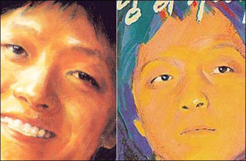 유재하 그의 사후 97년 발매된 <유재하를 추모하는 앨범>과 그의 1집 <사랑하기 때문에>커버