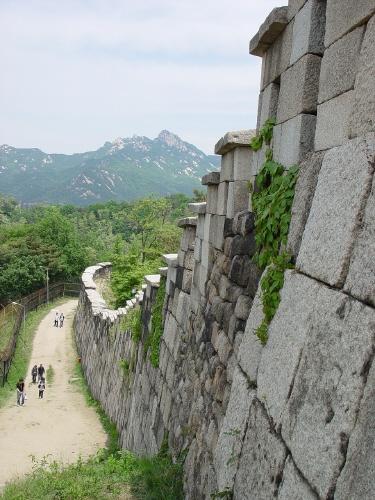 서울 성곽의 변천을 가장 잘 보여주는 부분