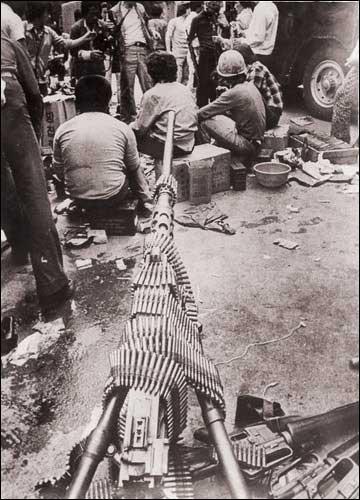 80년 5월 당시 시민군의 모습