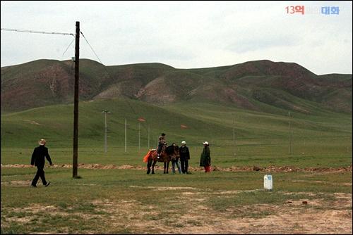 중국발품취재 중 찾은 칭하이 호수 부근 칭장고원