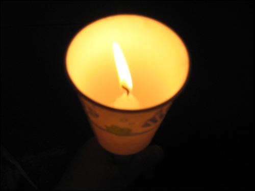 뉴욕 집회 뉴욕에서 밝힌 촛불입니다