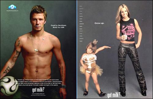 미국 유가공 촉진위원회에서 유명 연예인, 스포츠스타 등을 모델로 내세워 만든 우유 캠페인이다.