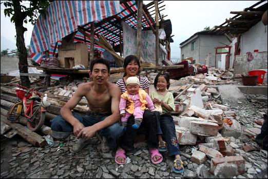 베이찬 강족 자치구에서 만난 천리 가족들