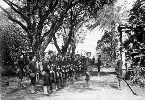 미국 군대는 과일 통조림 업자인 돌(돌 식품회사의 창업자)의 요청으로 하와이를 침공하여 하와이 왕실을 축출하고 미국령으로 만들었습니다.