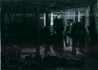 결말(Ende), 동판(Etching, aquatint, and sandpaper ground on wove paper), 1897