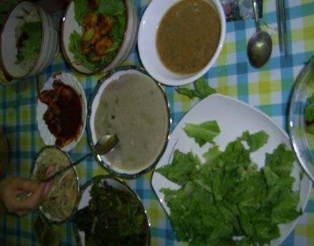 보리밥과 함께 먹을 것들