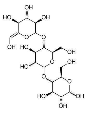 '말토덱스트린'은 '호정(糊精)'이라고도 하며, 화학식은 n(C·H2O)6이다. n은 포도당의 개수다. 녹말보다 분자량이 작은 다당류를 총칭한다.