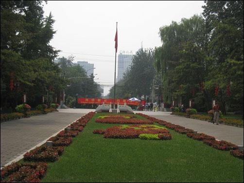 중국 당국이 7월 23일부터 시위 전문 구역으로 개방했다던 3개의 공원 중 하나인 르탄 공원.