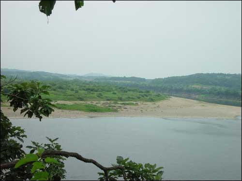 연천군의 중심 하천 임진강