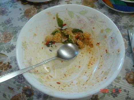 겉절이는 '밥 도둑' 비비자마자 한순간에 밑바닥을 보인 비빔밥 그릇, 그 어느 비빔밥에 견줄만하다.