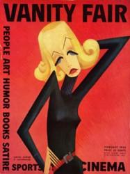 1932년 2월호 표지모델은 그레타 가르보 삽화다.