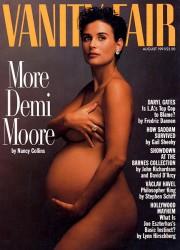 데미 무어의 임신한 몸은 여성의 몸에 대한 문화정치의 장이 되었다.