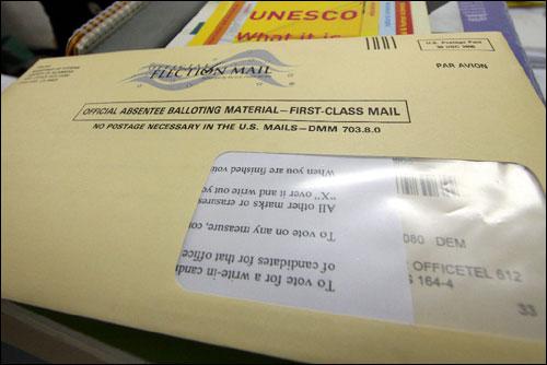 미국 대통령 부재자 선거용 우편