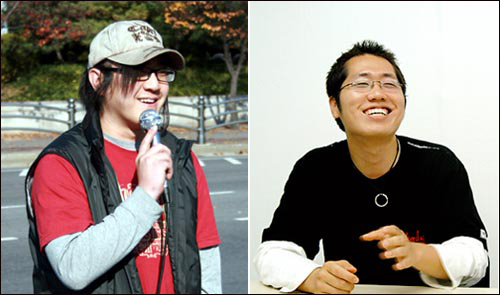 한국의 보수 기독교는 양심에 따른 병역 거부와 대체 복무제 도입을 반대하고 있다. 하지만 2005년부터 기독교 신앙을 바탕으로 병역을 거부하는 젊은이들이 생기고 있다. 왼쪽은 권순욱 씨, 오른쪽은 경수 씨.