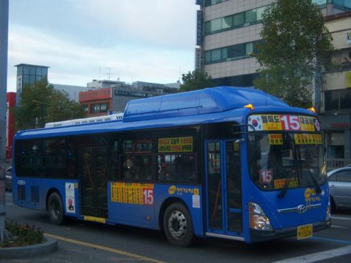 인천 15번 버스 인천에는 도시규모 및 버스대수 등에 비해 저상버스차량이 많다. 특히 15번과 28번의 경우 예비차를 제외한 전 차량이 저상버스차량이다. 더군다나 두 노선은 10대 미만의 소형 노선이 아니라 25대 이상의 대형 노선이다. 인천에서 이제, 타 시도에서는 볼 수 없는 모범적인 대중교통행정을, 저상버스차량 도입 외의 분야에서도 볼 수 있기를 바란다.