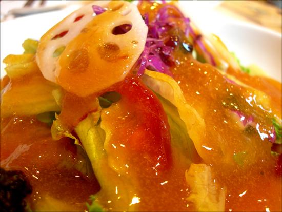 홍시소스 샐러드, 모든 요리에는 자연이 깃들어있다