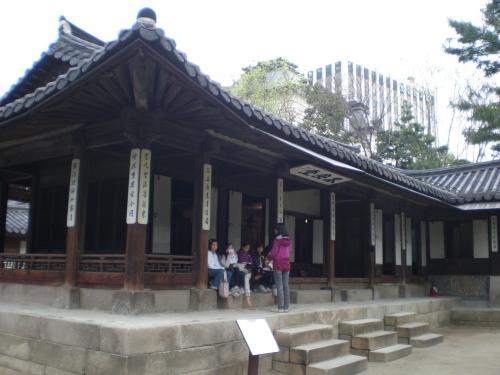 노안당 운현궁의 사랑채이자 대원군의 주요 거처였던 건물