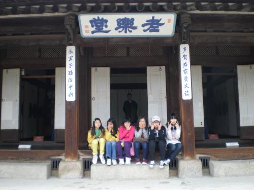 운현궁의 중심 건물 '노락당' 고종이 12세 때 명성황후와 혼례를 치른 공간이다.