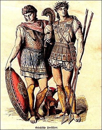세계 최초의 동성애 부대는 테베의 신성대였다