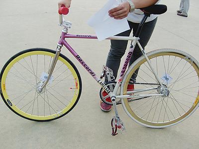이병일 학생의 조립형 픽시드 기어 자전거