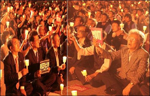 '6.10민주정신 계승 촛불문화제' 시민사회단체, 노동계, 정당, 학계 한목소리... 이날 집회는 시민사회단체, 노동계, 정당, 농업인단체, 통일운동단체 등이하나로 결집하는 중요한 계기가 되었다.