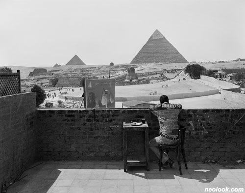 윤수연_tourist 1, Giza, Egypt_아카이벌 피그먼트 프린트_54×64cm_2009