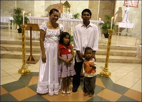 각각 딸과 아들이 있는 재혼부부