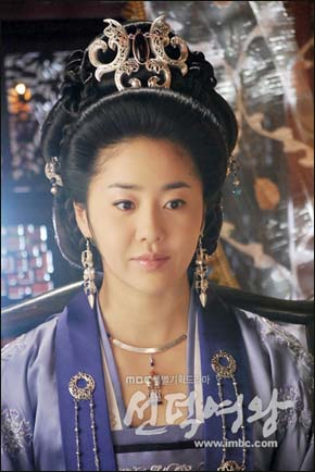 <선덕여왕>에서 미실 역을 맡은 고현정.