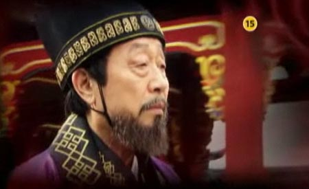 드라마 <선덕여왕>에서 진평왕의 최측근으로 활약하는 을제(신구 분).