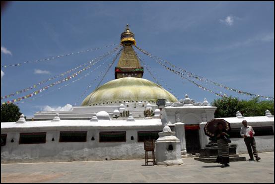 부다나트 사원 티베트인들의 정신적 중심이자 성지인 부다나트 티베트 사원의 전경