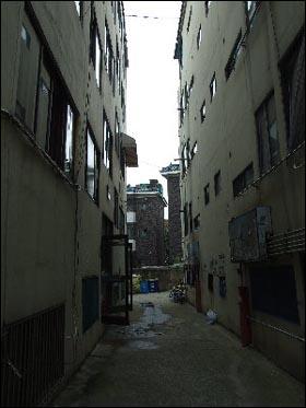 이효정 할머니가 살고있는 인천의 한 연립주택