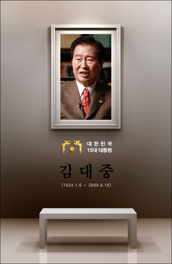 대한민국 15대 대통령 김대중