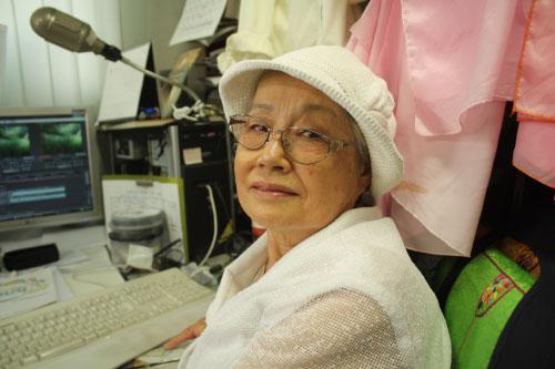 제2회노인영화제 그랑프리에 빛나는 80세 할머니 조경숙 선생