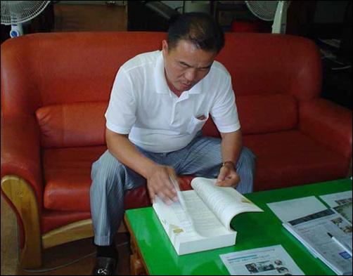 <한국인의 역사> 저자 김진우씨