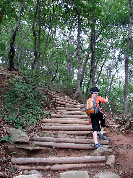 김제 모악산 오르는 길 비가 오락가락하는 궂은 날씨에 채 3시간도 안 되어 김제 모악산을 종주해버렸다. 산행에 속도가 많이 붙었다.