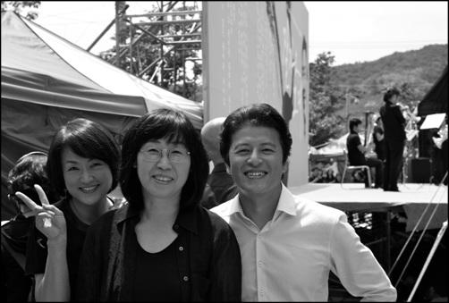 오지혜 박은옥 권해효.