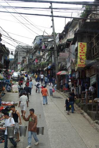 언덕이 오밀조밀하게 구성된 도시, 바기오.