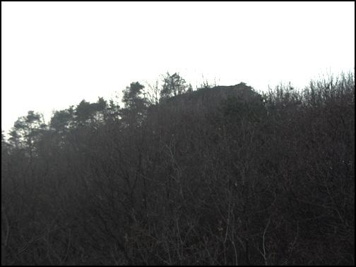 기차바위 고달사 입구에서 상교리로 들어가다가 보면 낮은 산 정상에 큰 바위들이 줄을 지어있다. 징바위 또는 기차바위라고 부른다.
